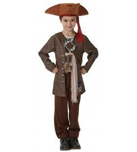 Jack Sparrow Pirates Of The Caribbean Kaperkapitein Kind Kostuum
