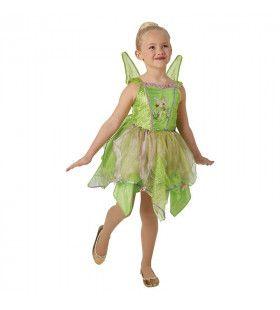 Tinker Bell Premium Nooitgedachtland Fee Meisje Kostuum