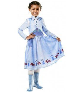 Anna Frozen Olafs Avontuur Disney Prinses Meisje Kostuum