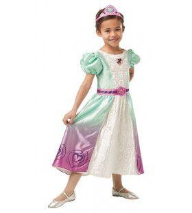 Dappere Ridder Prinses Nella Deluxe Meisje Kostuum