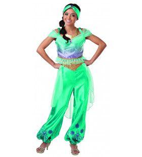 Jasmine Uit Aladdin Prinses Jasmijn Disney Film Vrouw Kostuum