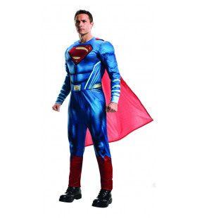Lichte Superman Clark Kent Superheld Tegen De Misdaad Kostuum