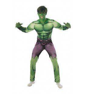 Gespierde Borst Hulk Avengers Assemble Man Kostuum