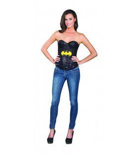 Superheld Batgirl Glitter Korset Vrouw