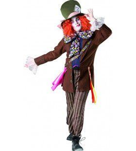 Zo Gek Als Een Deur Mad Hatter Man Kostuum