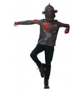 Ware Legende Fortnite Black Knight Top Kind Kind Kostuum