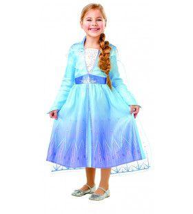 Klassieke Wonderschone Elsa Frozen Meisje Kostuum