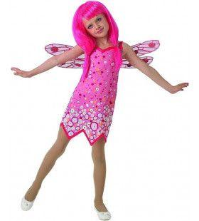 Fantastisch Roze Elfje Mia & Me Classic Meisje Kostuum