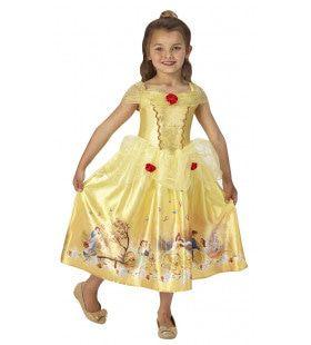 Mooie Belle Zonder Het Beest Meisje Kostuum