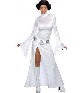 Sexy Princess Leia Skywalker Vrouw Kostuum