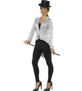 Zilveren Pandjesjas Showgirl Vrouw