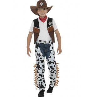 Spaghetti Western Cowboy Jongen Kostuum