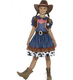 Pamela Texaanse Cowgirl Meisje Kostuum