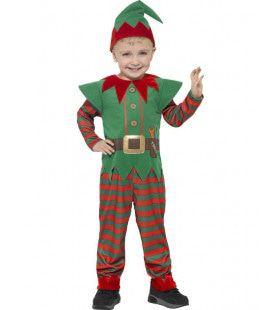Kleuter Kerst Elf Kostuum