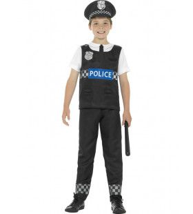 Big Ben Politie Jongen Kostuum
