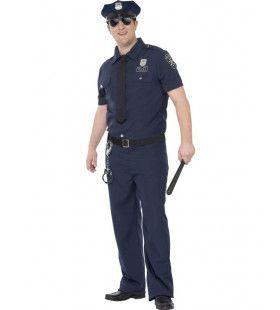Nypd Blue Politie Man Kostuum