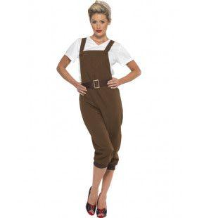 Milva Soldate Vrouw Kostuum