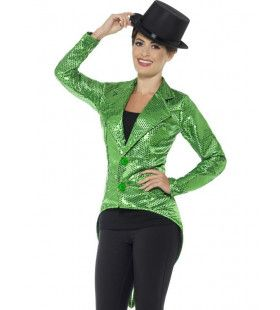 Honderden Groene Lovertjes Jacquet Vrouw