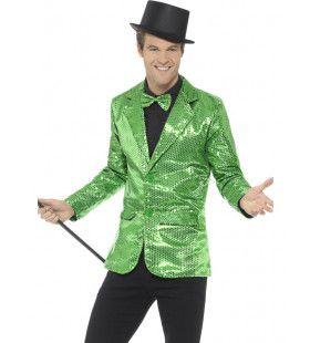 Groen Opvallend Showbink Man