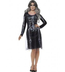 Botten Anna Halloween Vrouw Kostuum