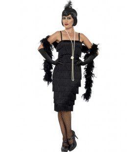 Koket Jaren 20 Flapper Vrouw Kostuum