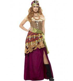 Loa Voodoo Priesteres Vrouw Kostuum