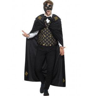 Luxe Venetiaans Fantoom Man Kostuum