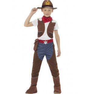Stoere Cowboy Stan Jongen Kostuum