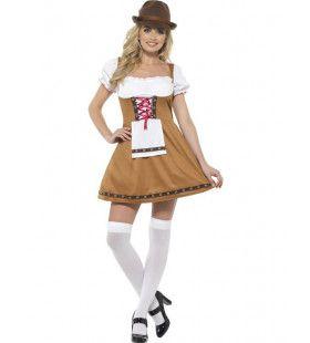 Beiers Bruin Oktoberfest Vrouw Kostuum