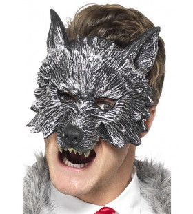 Grimmige Wolf Masker