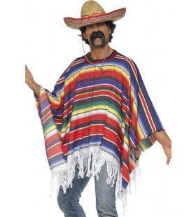 Kamerbrede Poncho Mexico