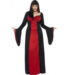 Duistere Verleidster Van De Nacht Vrouw Kostuum