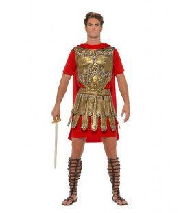 Onverslaanbare Gladiator Postulaticius Man Kostuum