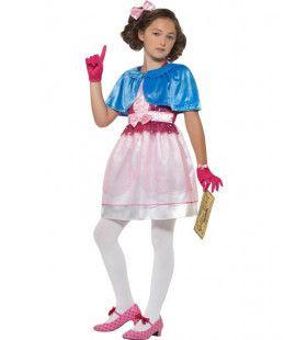 Roald Dahl Sjakie En De Chocoladefabriek Veruca Salt Peper Meisje Kostuum