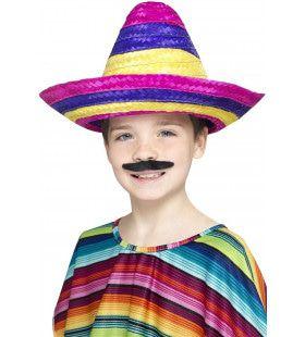 Grote Vrolijke Zonnehoed Sombrero