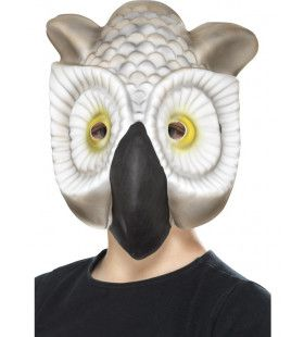 Wijze Uil Grote Ogen Masker
