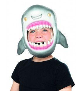 Masker Opgeslokt Door Een Haai