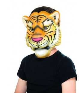 Masker Alles Verscheurende Tijger