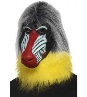 Latex Masker Mandril Aap