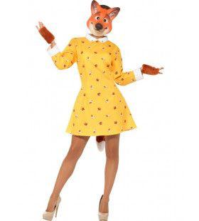 Foxy Mevrouw Vos Kostuum