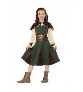 Nachtmerrie Van De Sheriff Robin Hood Meisje Kostuum