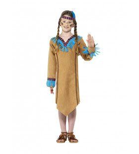 Mississippi Indiaan Wilde Mustang Meisje Kostuum