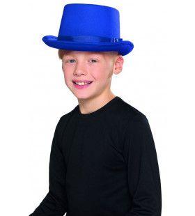 Showman Showgirl Circus Act Hoed Blauw