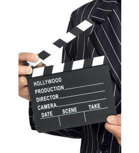 Filmklapper Hollywood 20 X 20 Centimeter