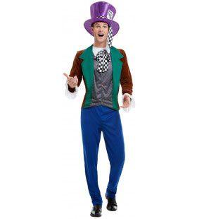 Zo Gek Als Een Mad Hatter Man Kostuum