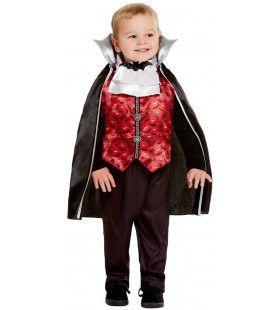 Graaf Hapkeel Vampier Jongen Kostuum