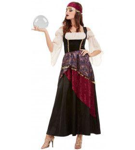 Waarzegster Zigeunerin Mooie Toekomst Vrouw Kostuum