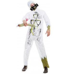 Radio Actief Kerncentrale Wit Kostuum