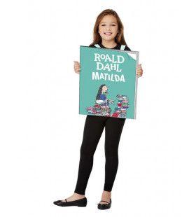 Reclame Bord Boek Roald Dahl Matilda Kind Kind Kostuum