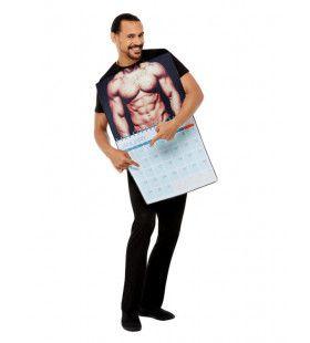 Mannelijke Blootkalender Kostuum